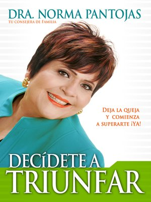 cover image of DECIDETE a TRIUNFAR